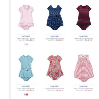 Baby Girl Polo Ralph Lauren 9