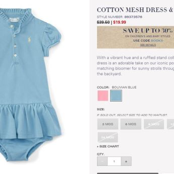 Baby Girl Polo Ralph Lauren Must Have