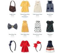 Baby Janie and Jack Girl vestidos