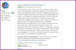 Fairfield Inn Marriot. Opiniones Viajeros 5