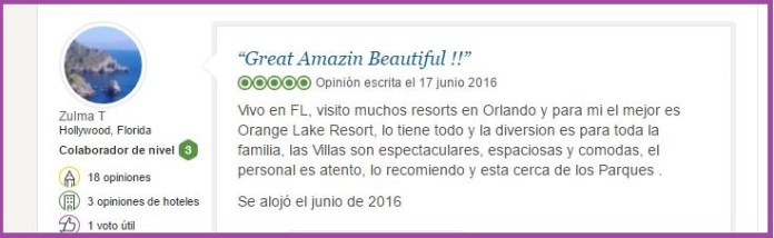 Holiday Inn Club Vacations At Orange Lake Resort opiniones viajeros 4