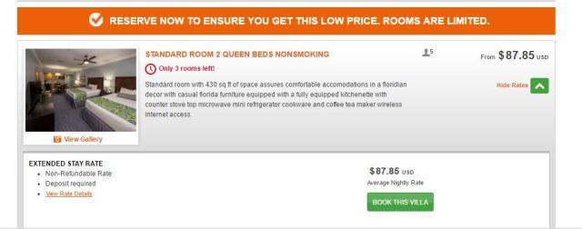 Holiday Inn Club Vacations At Orange Lake Resort precio 2.JPG