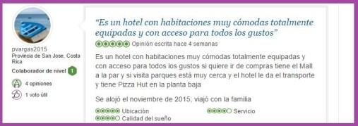 Lake Buena Vista Resort Village and Spa, a staySky Hotel & Resort Opiniones Viajeros 5
