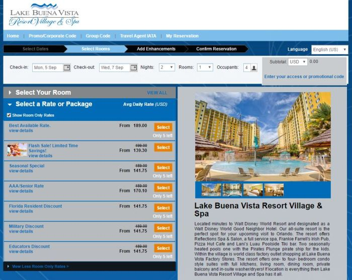 Lake Buena Vista Resort Village and Spa, a staySky Hotel & Resort precios 1.JPG