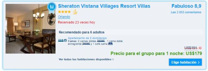 Sheraton Vistana Villages Resort Villas precio.JPG
