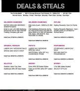 Deals Florida Mall Septiembre 03
