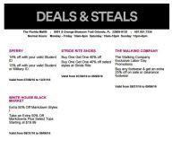 Deals Florida Mall Septiembre 04