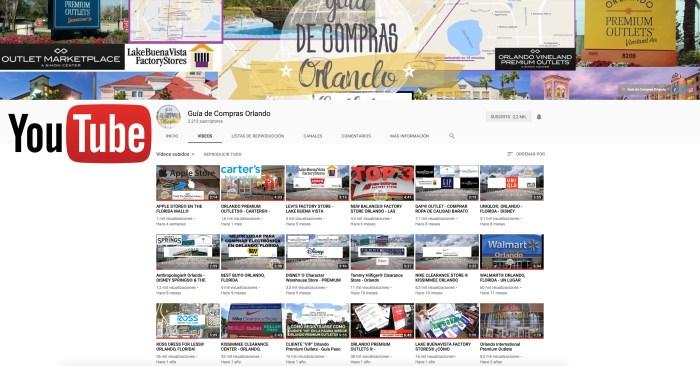 Canal de Youtube Guia de Compras