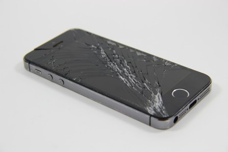 iPhone roto pantalla