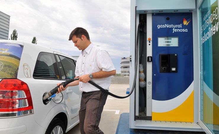 Gas Natural Fenosa duplicará estaciones de gas natural en 2018