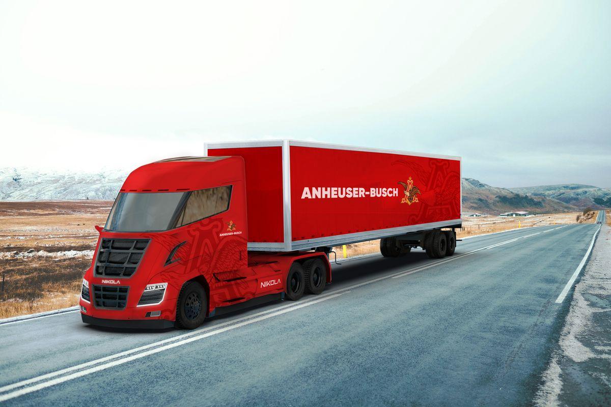 La cervecera más grande de EE.UU. compra 800 camiones a hidrógeno