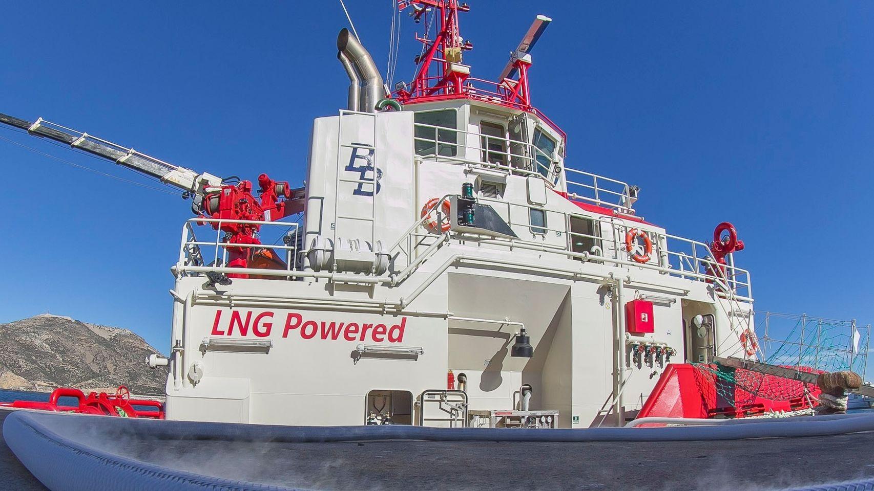 GNL, el combustible más limpio para el transporte marítimo