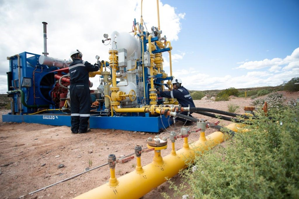 Argentina: Shell compra paquetes compresores de Galileo