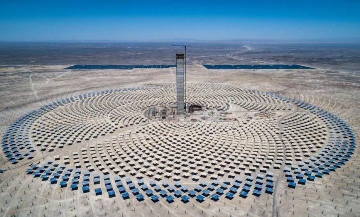 Chile: Construyen una de las plantas termosolares más grandes del mundo