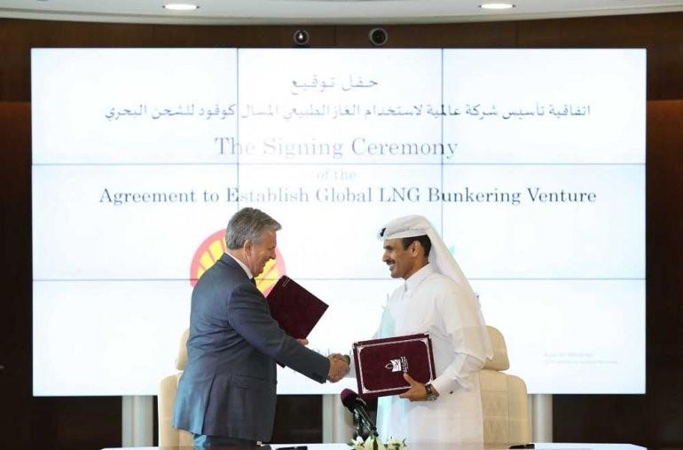Shell y Qatar Petroleum crearán una empresa de bunkering de GNL