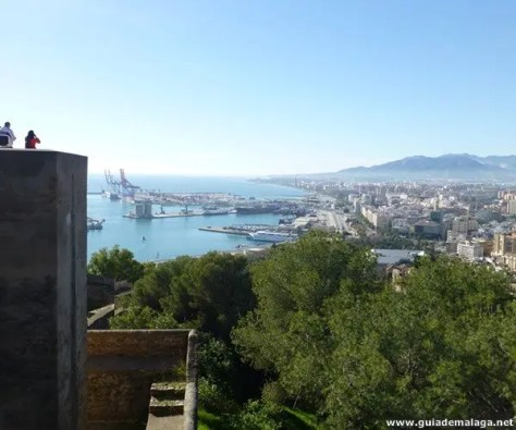 Castillo de Gibralfaro, Ciudad de Málaga.