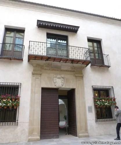 Museo Carmen Thyssen Málaga.