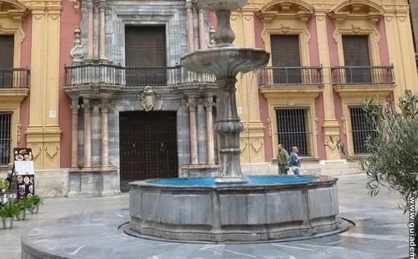 Fuente del Palacio Episcopal.