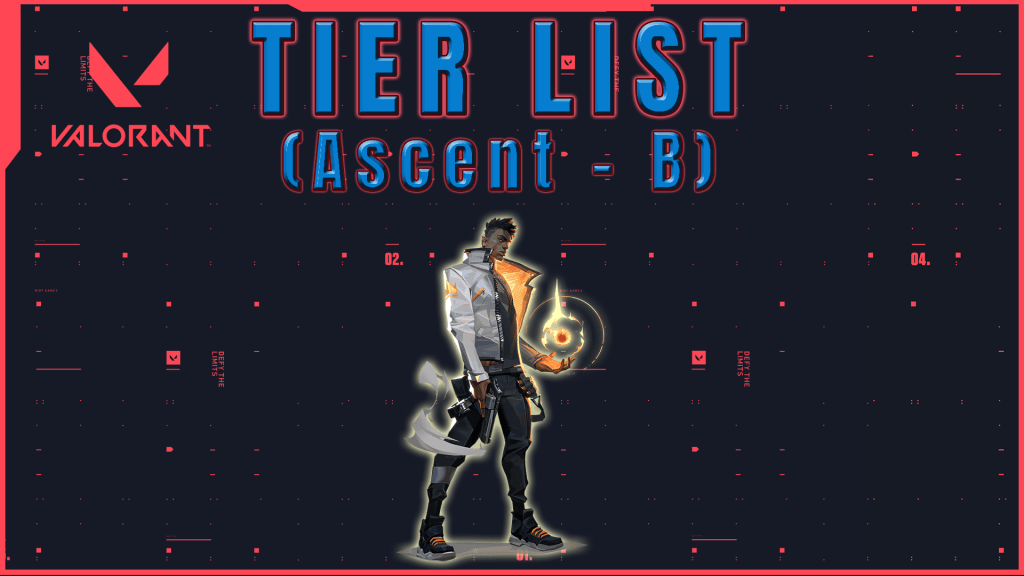 Tier list de Agentes Valorant Ascent Tier B