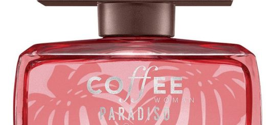 Detalhe do perfume Coffee Paradiso