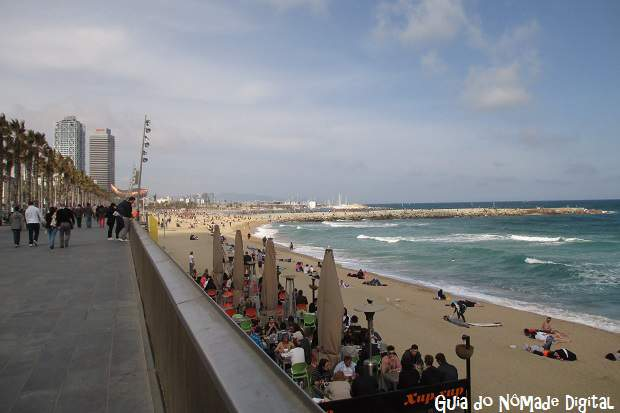 As principais praias de Barcelona: pontos turísticos famosos