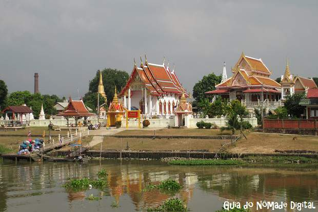Ayutthaya: a antiga capital da Tailândia