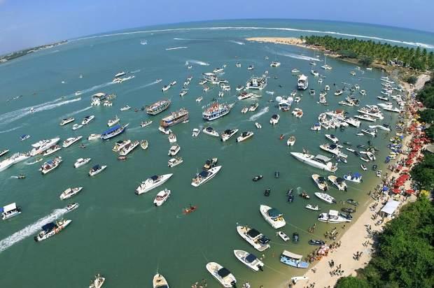 Melhores praias do Brasil: Barra de São Miguel - Praia do Gunga - Alagoas