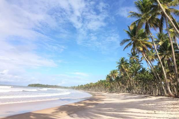 Melhores praias do Brasil: Cairu - Ilha de Boipeba - Praia da Cueira - Bahia