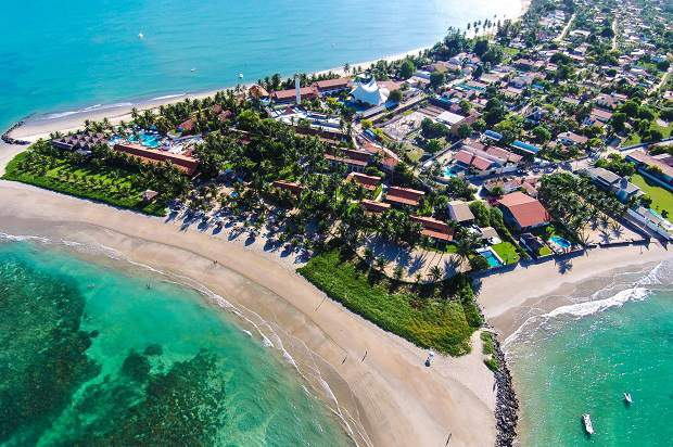 Melhores praias do Brasil: Ipojuca - Praia do Serrambi - Pernambuco