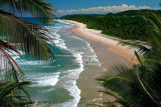 Melhores praias do Brasil: Itacaré - Praia de Itacarezinho - Bahia