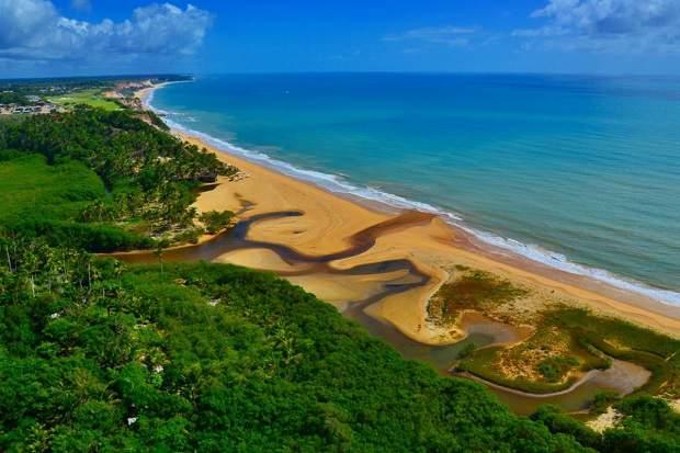 Melhores praias do Brasil: Porto Seguro - Trancoso - Praia do Rio da Barra - Bahia