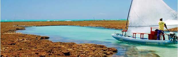Melhores praias do Brasil: São Miguel dos Milagres - Praia do Toque - Alagoas