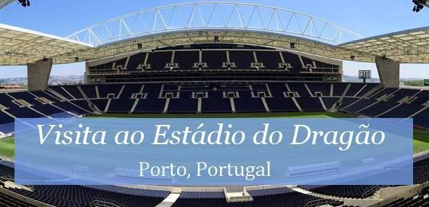 Visita ao Estádio do Dragão, em Porto