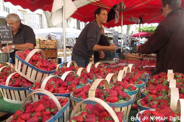 Mercados de ruas em Aix-en-Provence: os melhores da Provença!
