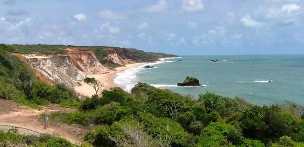 Praia de Tambaba: naturismo na Paraíba!