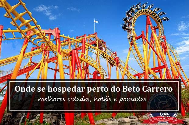 hotel próximo ao Beto Carrero World