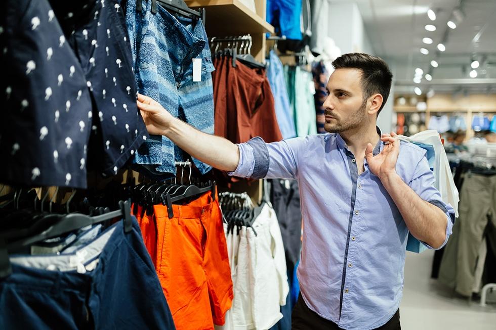 franquias de roupas masculinas