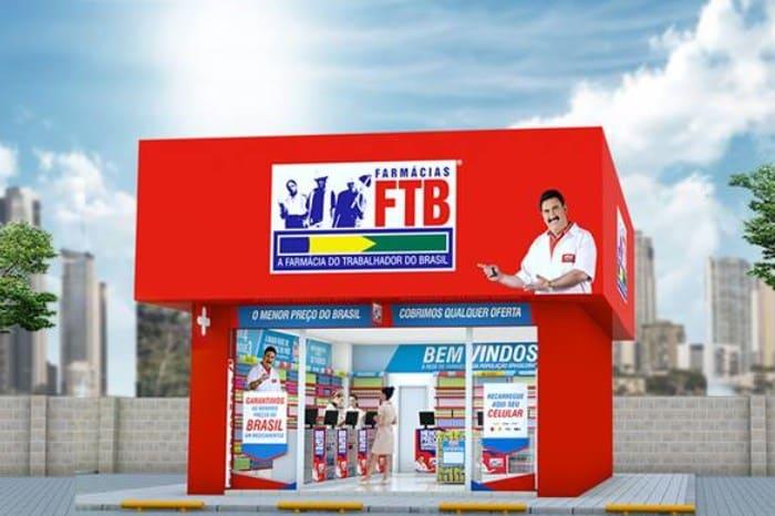 maiores franquias do Brasil - farmácias ftb