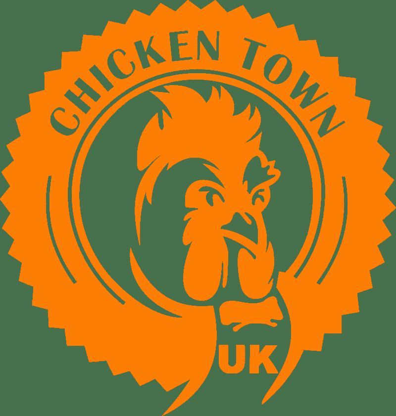 logo chicken town