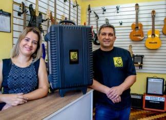 Márcia Gregini e Paulo Torquato - Franquia Torky