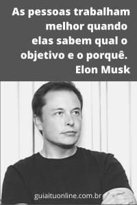 frase Elon Musk um dos maiores administradores da atualidade