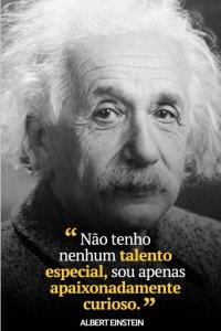 Frase Albert Einsteen sobre criatividade