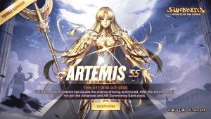 Artemisa Saint Seiya Awakening