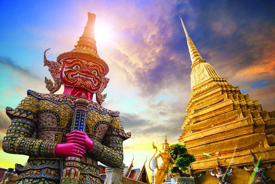 Vuelos a Tailandia por 396€ I/V.