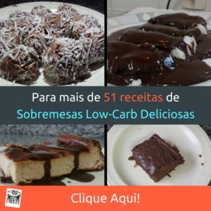 E-book de Sobremesas Low-Carb deliciosas