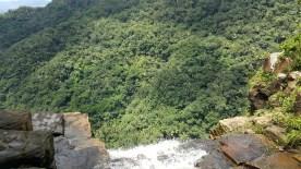 Cachoeira Cana Brava vista de cima