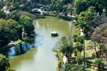 Parque Municipal Américo Renné Giannetti/ foto Vander Bras