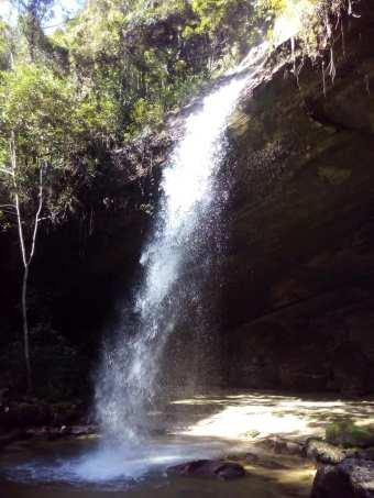 Cachoeira da Usina PCH Cabixi II