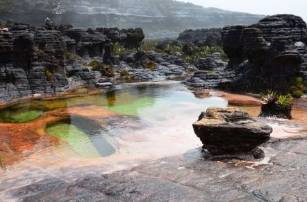 Jacuzzis do Monte Roraima