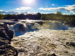 Cascadas del Río Queguay